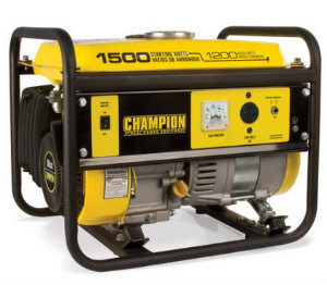 Champion 42436 1200 running watts portable generator