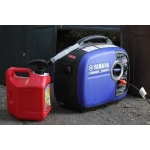 Yamaha Generator With Gas Can