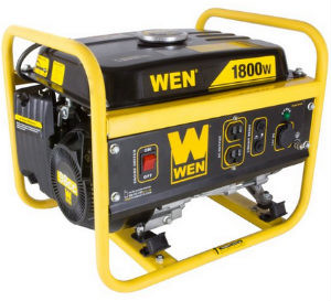 WEN 56180 1500 running watts portable generator