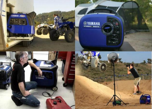 Yamaha Genset In The Wild Image