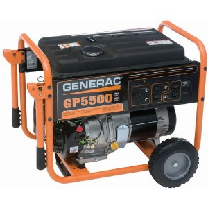 Generac GP5500 Gas Powered Portable Generator