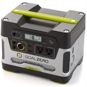 Yeti Goal Zero Portable Solar Generator